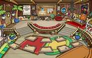 Captain's Quarters before Puffle Party 2014
