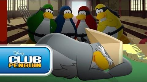 Club Penguin Shorts - Never Wake a Sleeping Sensei