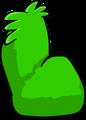 Fuzzy Green Couch sprite 005