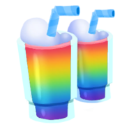Supplies Rainbow Smoothie Tray icon