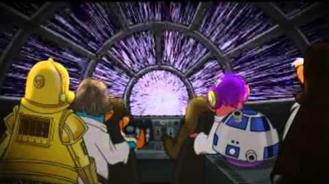 Club Penguin Star Wars Comercial