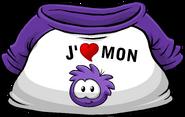 I Heart My Purple Puffle T-Shirt icon fr