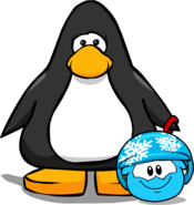 Puffle Hats snowflakehelmet player card