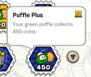 Puffle plus stamp book
