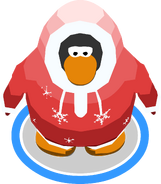 Red Parka in-game