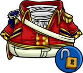 Scarlet Admiral's Coat clothing icon ID 14446