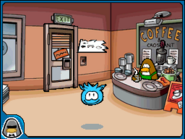 Blue puffle paper