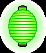 Green Paper Lantern sprite 002
