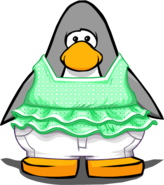 McKenzie's Beach Outfit from a Player Card