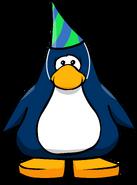Sombrero del 1° aniversario tarjeta