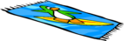 Surf Beach Towel sprite 003