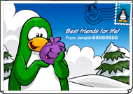 Best Friends for Life! postcard (ID 219)