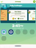 CPI Phone menu