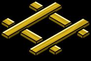 Gold Railroad Crossing sprite 002