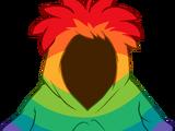 Rainbow Smirk Hoodie