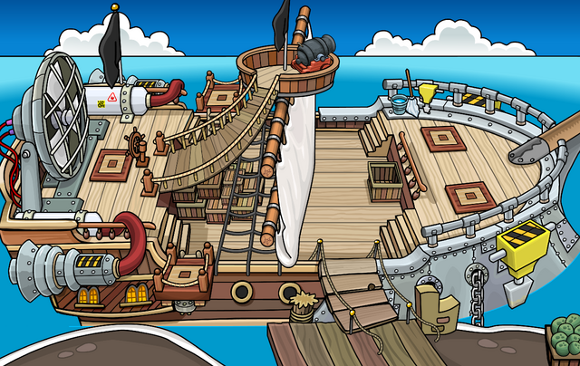 File:Rockhopper's Quest Migrator docked at Swashbuckler Trading Post.png