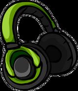 Auriculares Verdes