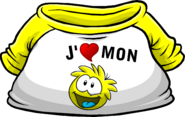 I Heart My Yellow Puffle T-Shirt icon fr