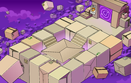Operation Puffle construction Box Dimension