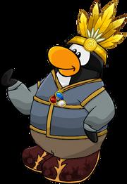 Pinguino animado de Pingui d4