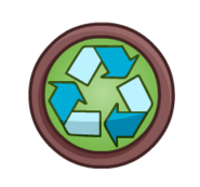 Recyclepin