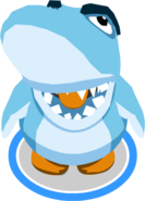 Sharks' Mascot Costume In-Game