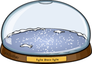 Snowglobe igloo in-game pt