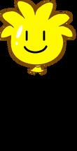 Globo de Puffle Amarillo icono