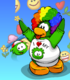 Goofy Green Puffle card image