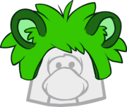 Gorro de Puffle Mapache icono