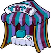 Newspaper Issue 197 Color Vote Booth