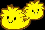 Pantuflas de Puffle Amarillo icono