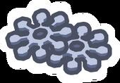 Snow Shuriken Pin icon
