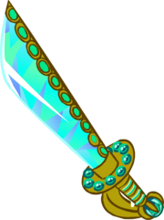 Club Penguin Jeweled Cutlass.