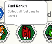 Fuel rank 1 stamp book