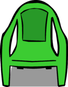 Green Plastic Chair sprite 001