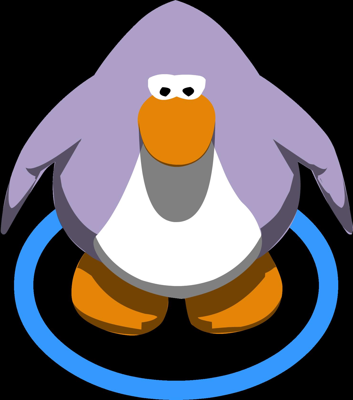 Lavandar penguin