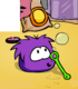 PURPLE PUFFLE card image