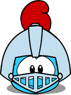 Puffle Hats Knight Helmet ID 81 igloo