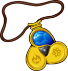 Amulet icon water gem