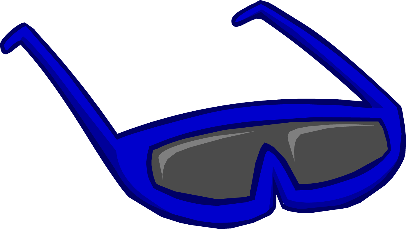 Image result for club penguin blue sunglasses