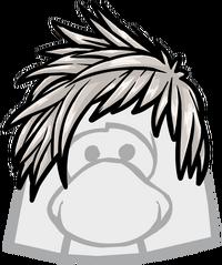 Despeinado Gris icono