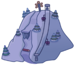Holiday Party Map Icon Ski Hill