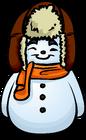 Orange Scarf Snowman sprite 001