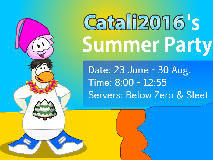 Catali2016's Summer Party