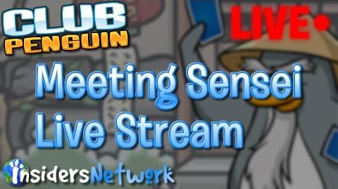 Club Penguin Meeting Sensei