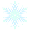 Decal Snowflake frozen icon
