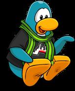 Mancala postcard penguin