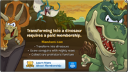 Prehistoric Party Membership Error