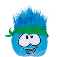 Puffle All-Star Curls Plush